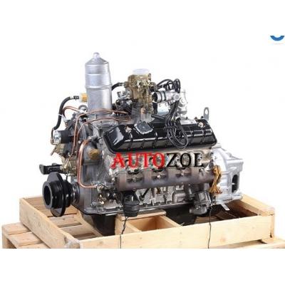 Двигатель ЗМЗ-5234 ПАЗ-3205 130 л.с (без ремней, катушки зажигания, генератора и насоса ГУР)